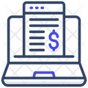 Online Bill Icon