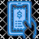 Online Bill Bill Invoice Icon