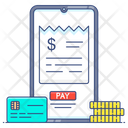 Online Bill Payment Bill Payment Secure Payment Icon