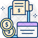 Online Bill Payment Bills Bill Icon