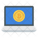 Online Bitcoin Icon
