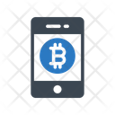 Online Bitcoin Pay Icon