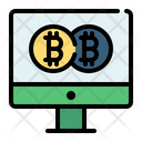 Bitcoin Bank Coin Icon