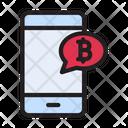 Online Bitcoin Bitcoin Market Icon
