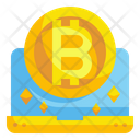 Digital Currency Computer Laptop Icon