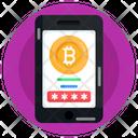 Bitcoin Password Online Account Online Bitcoin Account Icon