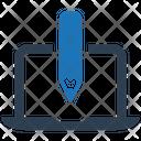 Brand Creation Custom Design Laptop Icon