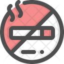 No Smoking Smoke Forbidden Icon