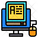Book Monitor Education Icon