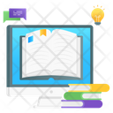 Online Book Online Journal Online Library Icon