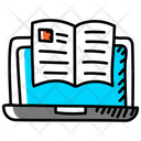 Online Education Online Book Online Learning Icon