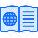 Online Book Book Writing Icon