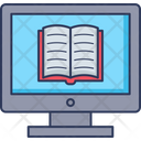 Online Book Online Reading Open Book Icon