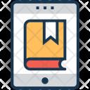 Online Book Smartphone Icon
