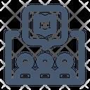 Online Book Club Icon