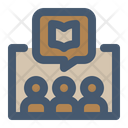 Group Discussion Untact Book Discussion Icon