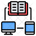 Online Book Network Icon