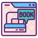 Online Book Room Icon