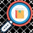 Book Search Digital Icon