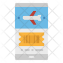 Mobile Ticket Online Icon