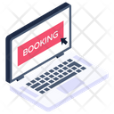 Online Booking Digital Booking Reserve Booking Icon