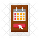 Online Booking Online Book Ticket Booking Icon