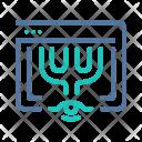 Online Branding Icon