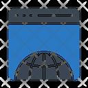 Browser Internet Seo Icon