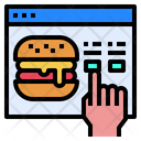Website Hamburger Food Icon