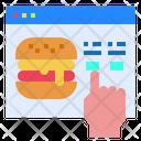 Website Hamburger Food Icon