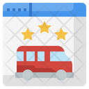 Online Bus Booking Icon