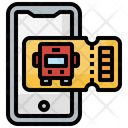 Bus Ticket Tickets Holidays Icon