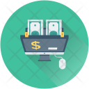 Online Business Dollar Icon