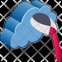 Cloud Computing Business Icon