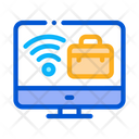 Wifi Business Case Icon