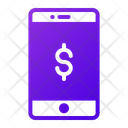 Online Business Mobile Business Online Icon