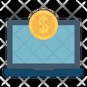 Online Money Online Business Online Job Icon