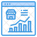 Marketing Shop Report Icon