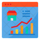 Marketing Shop Report Icon