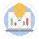 Business Analytics Business Intelligence Business Monitoring Icon