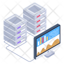 Online Business Data Icon