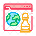Chess Figure Earth Icon
