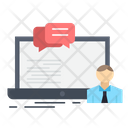 Online Business Training Icon