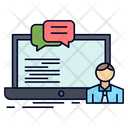 Training Course Online Icon