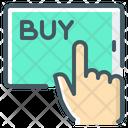 Ecommerce Buy Buy Online Icon