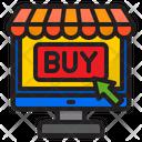 Online Buy Buy Shop Icon