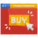 Online Buy Pay Per Click Buy Icon
