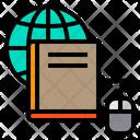Book Mouse Globe Icon