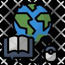 Book Education Globe Icon