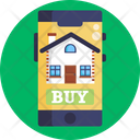 Online Buy Home Buy Real Estate Icon